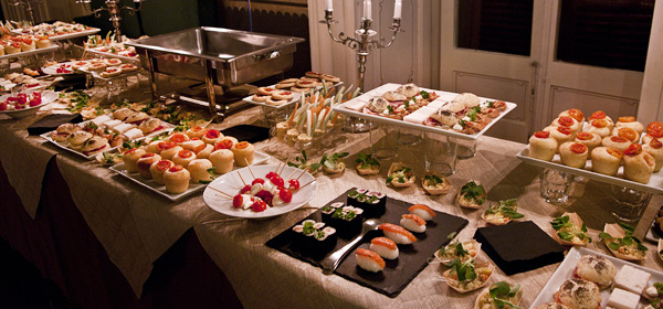 Catering per feste private e ricorrenze