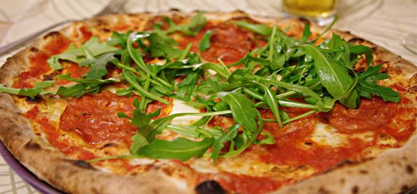Le pizze a La Scarpetta da gustare la sera