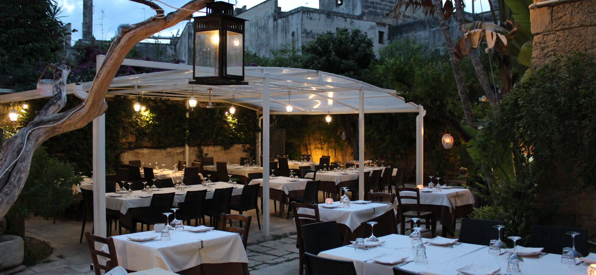 Ristorante all'aperto a Lecce - La Scarpetta
